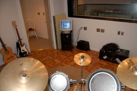 D-Prods Drum Room View